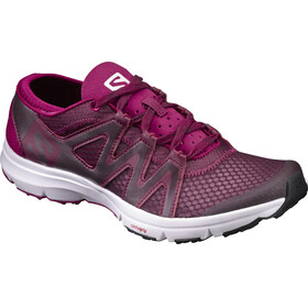 Salomon Crossamphibian Swift Shoes Women fig/white/sangria